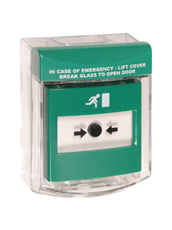 STI Call Point Stopper in green