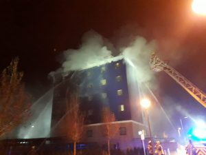 Brentford Travelodge Fire
