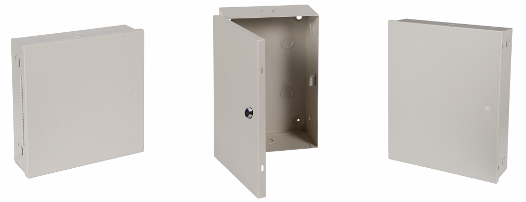 Metal protective cabinet for electronic equipment