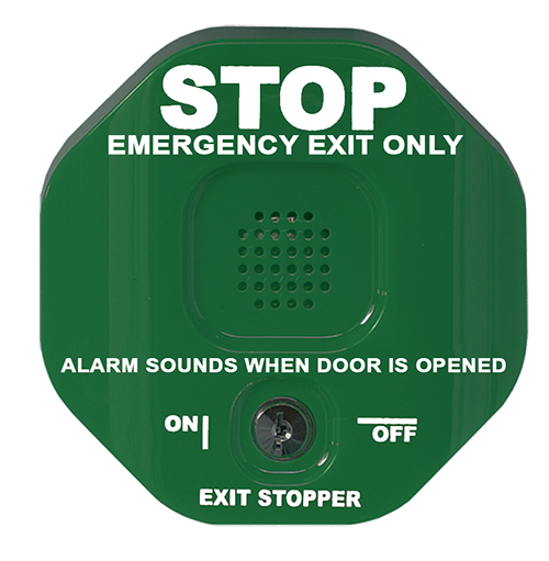 Exit Stopper Green-SMALL