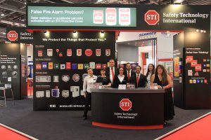 A picture of the STI Team at Firex 2017