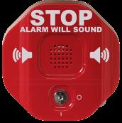 STI-6400 exit stopper fire door alarm