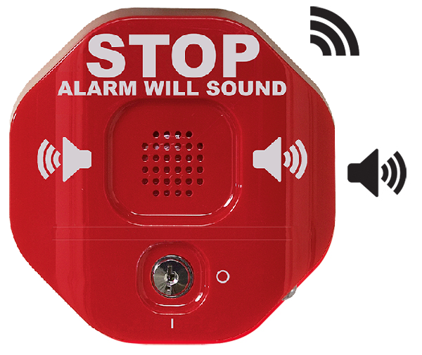 STI-6400WIR Wireless Door alarm
