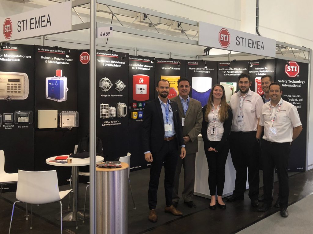 STI exhibitors at Security-Essen-2018
