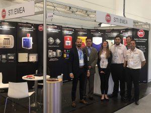 STI exhibitors at Security-Essen-2018